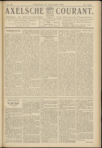 Axelsche Courant 1933-01-13