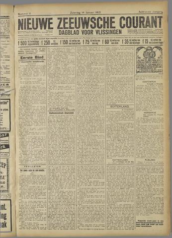 Nieuwe Zeeuwsche Courant 1922-01-14