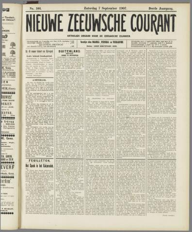 Nieuwe Zeeuwsche Courant 1907-09-07