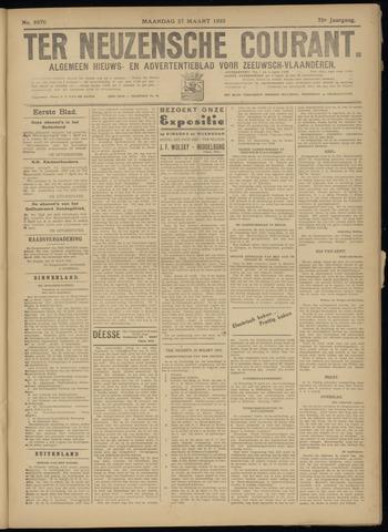 Ter Neuzensche Courant. Algemeen Nieuws- en Advertentieblad voor Zeeuwsch-Vlaanderen / Neuzensche Courant ... (idem) / (Algemeen) nieuws en advertentieblad voor Zeeuwsch-Vlaanderen 1933-03-27
