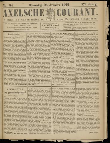 Axelsche Courant 1922-01-25