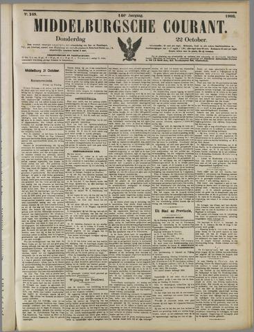 Middelburgsche Courant 1903-10-22