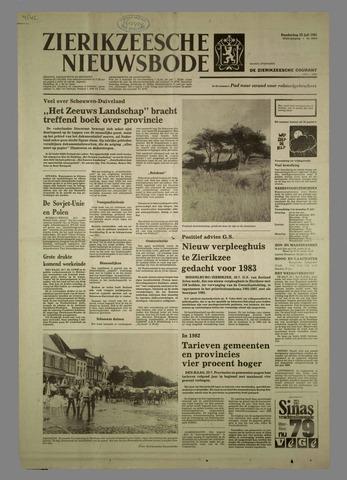 Zierikzeesche Nieuwsbode 1981-07-23