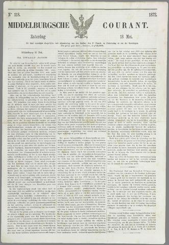 Middelburgsche Courant 1872-05-18