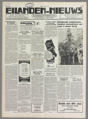 Eilanden-nieuws. Christelijk streekblad op gereformeerde grondslag 1979-09-07