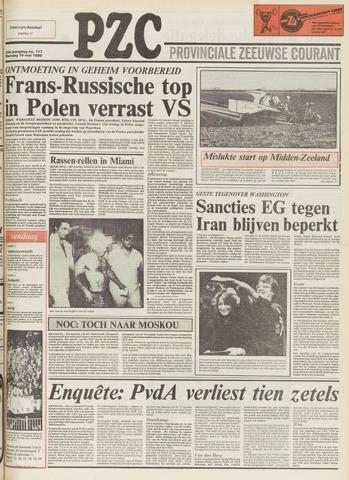 Provinciale Zeeuwse Courant 1980-05-19