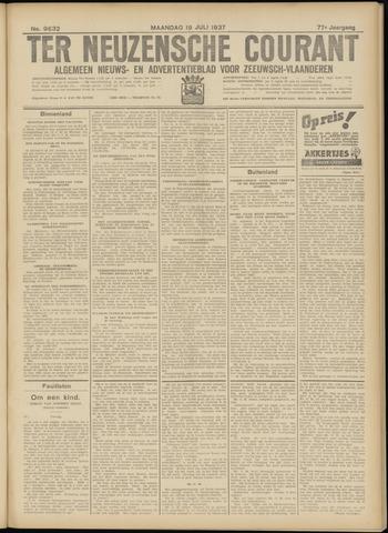 Ter Neuzensche Courant. Algemeen Nieuws- en Advertentieblad voor Zeeuwsch-Vlaanderen / Neuzensche Courant ... (idem) / (Algemeen) nieuws en advertentieblad voor Zeeuwsch-Vlaanderen 1937-07-19
