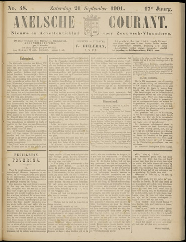Axelsche Courant 1901-09-21