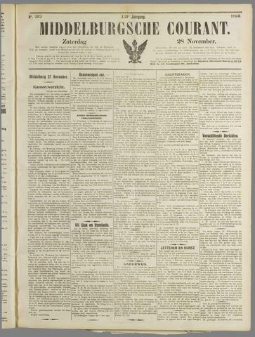 Middelburgsche Courant 1908-11-28