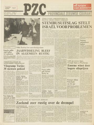 Provinciale Zeeuwse Courant 1974