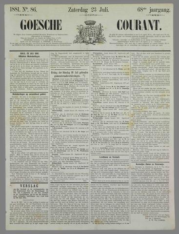 Goessche Courant 1881-07-23