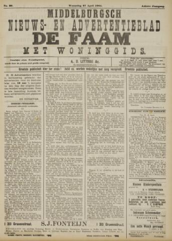 de Faam en de Faam/de Vlissinger 1904-04-27