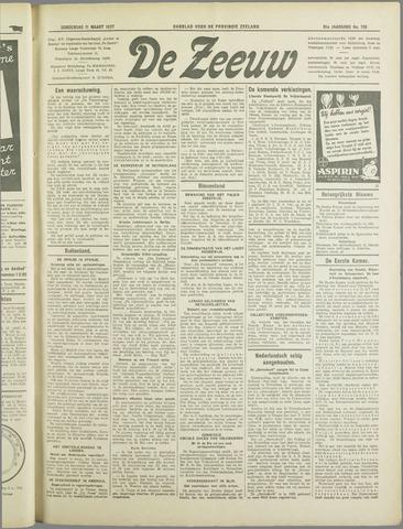 De Zeeuw. Christelijk-historisch nieuwsblad voor Zeeland 1937-03-11
