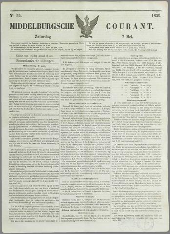 Middelburgsche Courant 1859-05-07