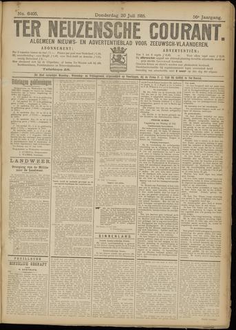 Ter Neuzensche Courant. Algemeen Nieuws- en Advertentieblad voor Zeeuwsch-Vlaanderen / Neuzensche Courant ... (idem) / (Algemeen) nieuws en advertentieblad voor Zeeuwsch-Vlaanderen 1916-07-20