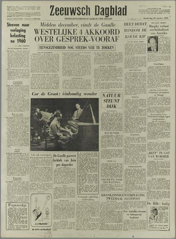 Zeeuwsch Dagblad 1959-10-29