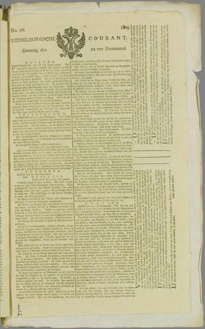 Middelburgsche Courant 1809-07-22