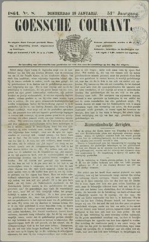 Goessche Courant 1864-01-28