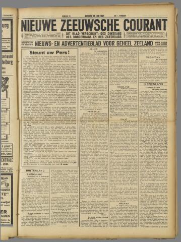 Nieuwe Zeeuwsche Courant 1924-06-24