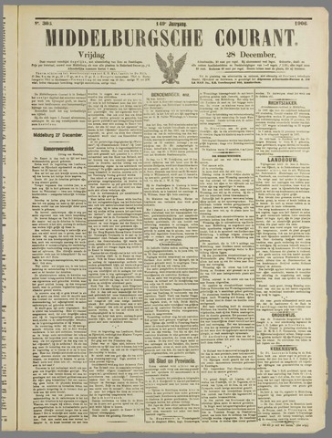 Middelburgsche Courant 1906-12-28