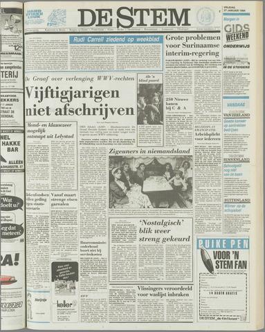de Stem 1984-01-27