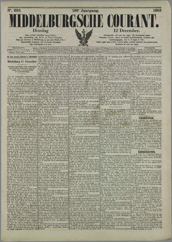 Middelburgsche Courant 1893-12-12