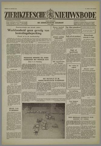 Zierikzeesche Nieuwsbode 1958-01-24