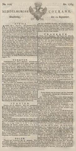 Middelburgsche Courant 1764-09-13