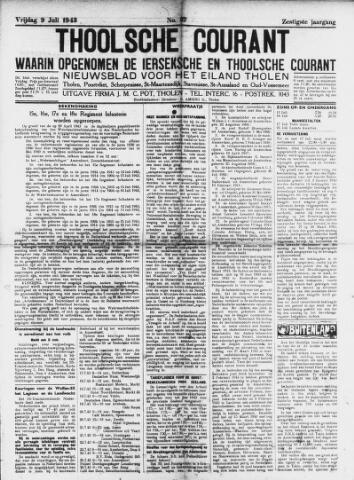 Ierseksche en Thoolsche Courant 1943-07-09