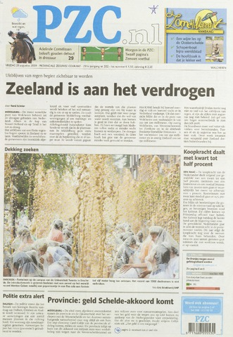 Provinciale Zeeuwse Courant 2009-08-28