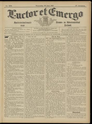 Luctor et Emergo. Antirevolutionair nieuws- en advertentieblad voor Zeeland / Zeeuwsch-Vlaanderen. Orgaan ter verspreiding van de christelijke beginselen in Zeeuwsch-Vlaanderen 1915-06-30