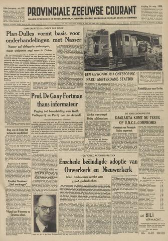 Provinciale Zeeuwse Courant 1956-08-24