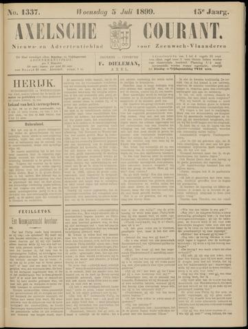 Axelsche Courant 1899-07-05