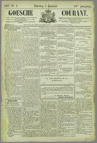 Goessche Courant 1907