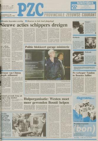 Provinciale Zeeuwse Courant 1993-08-11