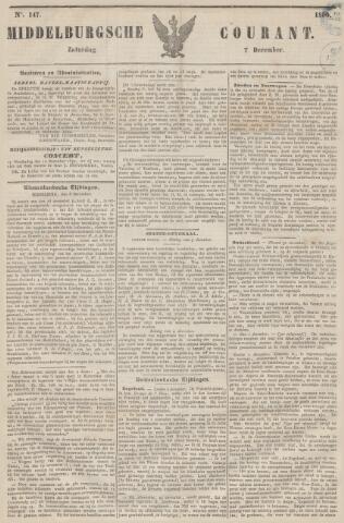 Middelburgsche Courant 1850-12-07
