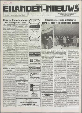 Eilanden-nieuws. Christelijk streekblad op gereformeerde grondslag 1985-11-22