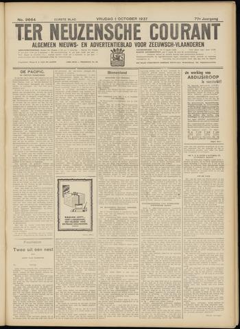 Ter Neuzensche Courant. Algemeen Nieuws- en Advertentieblad voor Zeeuwsch-Vlaanderen / Neuzensche Courant ... (idem) / (Algemeen) nieuws en advertentieblad voor Zeeuwsch-Vlaanderen 1937-10-01