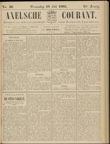 Axelsche Courant 1905-07-19