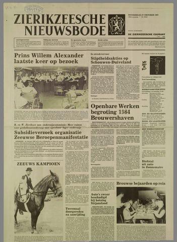 Zierikzeesche Nieuwsbode 1983-10-27
