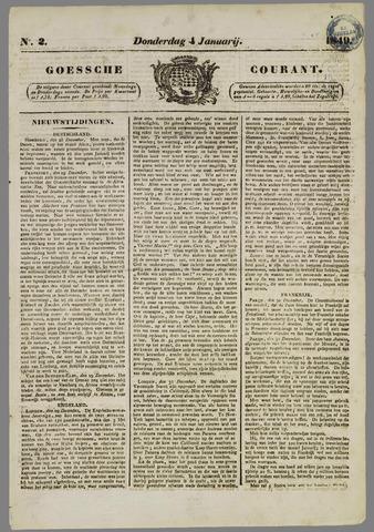 Goessche Courant 1849-01-04