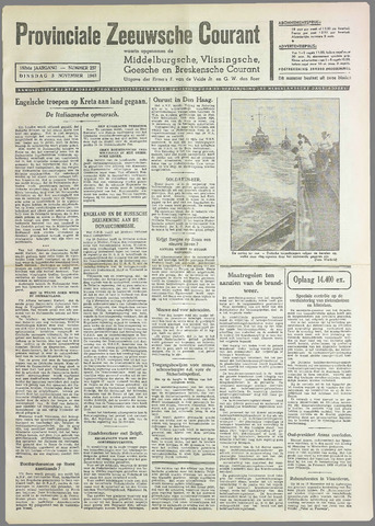 Provinciale Zeeuwse Courant 1940-11-05
