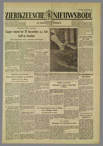 Zierikzeesche Nieuwsbode 1960-09-15