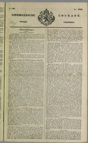 Zierikzeesche Courant 1844-12-06