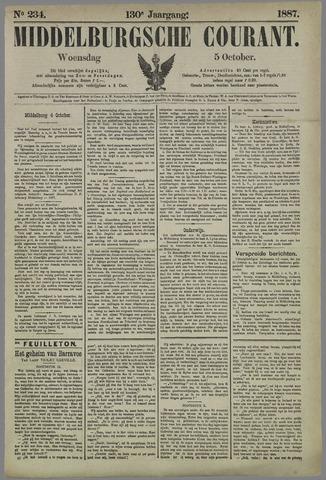 Middelburgsche Courant 1887-10-05