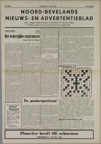 Noord-Bevelands Nieuws- en advertentieblad 1975-03-27