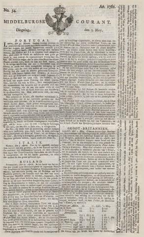 Middelburgsche Courant 1761-05-05
