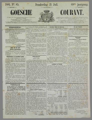 Goessche Courant 1881-07-21