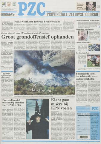 Provinciale Zeeuwse Courant 2001-11-05