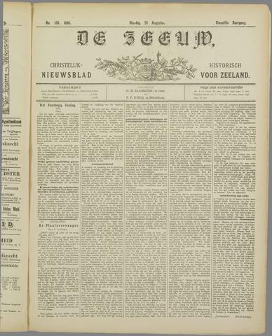 De Zeeuw. Christelijk-historisch nieuwsblad voor Zeeland 1898-08-23